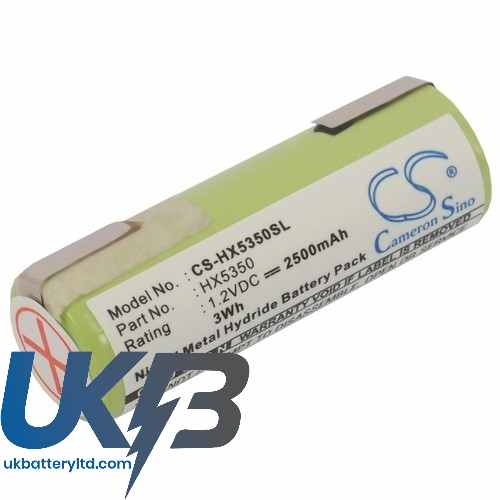 Replacement Battery Batteries For WELLA XpertHS50 CS HX5350SL
