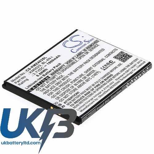 Replacement Battery Batteries For KRUGER&MATZ KM0403 CS KMZ403SL