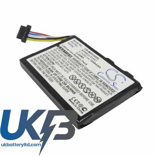 Replacement Battery Batteries For VIEWSONIC V35 CS MIO336SL