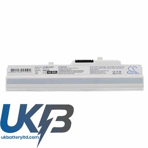 Replacement Battery For Advent 14L-MS6837D1 3715A-MS6837D1 6317A-RTL8187SE 4211 4212
