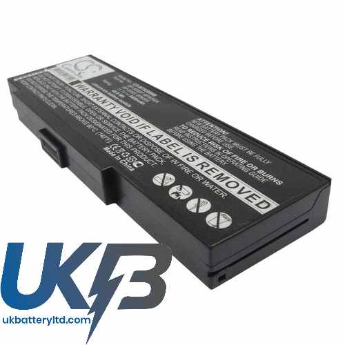 Replacement Battery Batteries For ADVENT BP 8389 CS MT8389NB