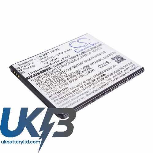 Replacement Battery Batteries For MOTOROLA Moto E3 Dual SIM CS MXT160XL