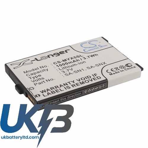 Replacement Battery Batteries For SAGEM 188973731 CS MYX5SL