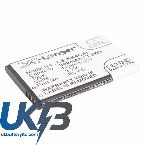 Replacement Battery Batteries For ROLLEI Compact line83 CS NK4CHL