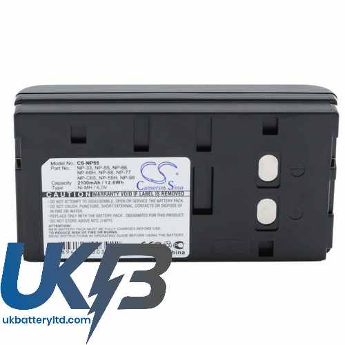 Replacement Battery Batteries For SONY 10D CS NP55