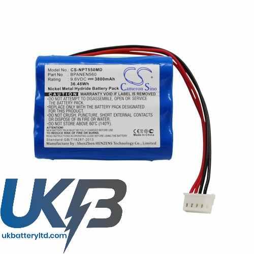 Replacement Battery For Nellcor Puritan Bennett 069308 Bpanen560 Ee090298 N550B N-550B Pulse