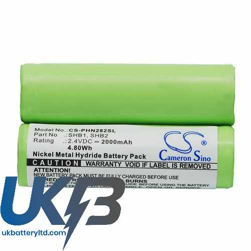 Replacement Battery Batteries For REMINGTON 10468 CS PHN282SL