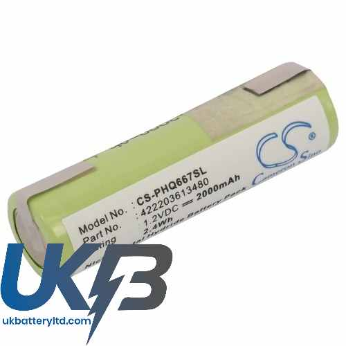 Replacement Battery Batteries For REMINGTON MS2 390 CS PHQ667SL