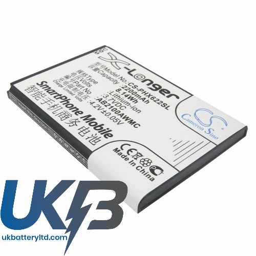 Replacement Battery Batteries For PHILIPS Xenium W8568 CS PHX622SL