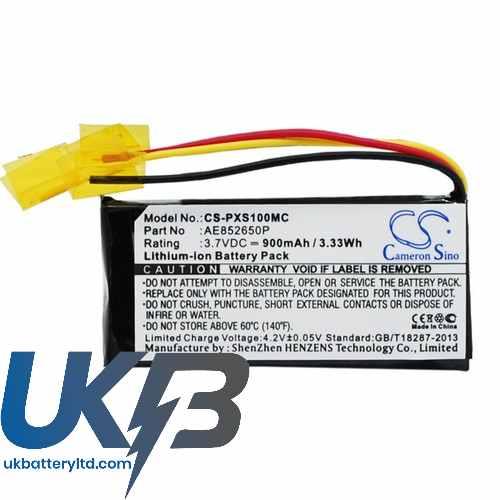 Replacement Battery Batteries For POLAROID POLXS100 CS PXS100MC