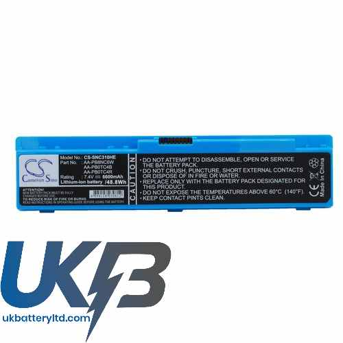 Replacement Battery Batteries For SAMSUNG X120 CS SNC310HE