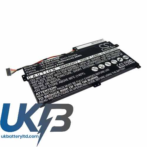 Replacement Battery Batteries For SAMSUNG 510R CS SNP470NB