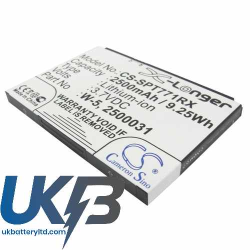 Replacement Battery For Sprint 2500031 2500060 W-5 AirCard 770S 771S