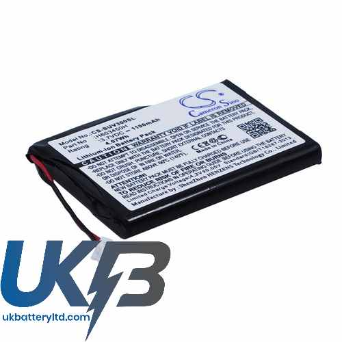 Replacement Battery Batteries For SURESHOT GPS C2796 CS SUV300SL