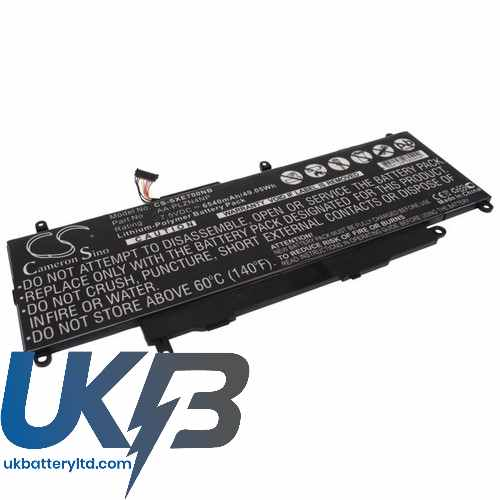 Replacement Battery Batteries For SAMSUNG XE700T1C A01US CS SXE700NB