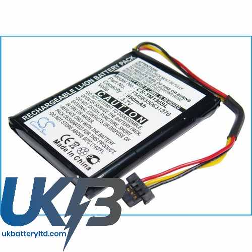 Replacement Battery Batteries For TOMTOM VF2 CS TM130SL