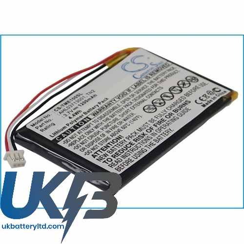 Replacement Battery For TomTom AHL03713001 TN2 AVN4430 Eclipse TNS410