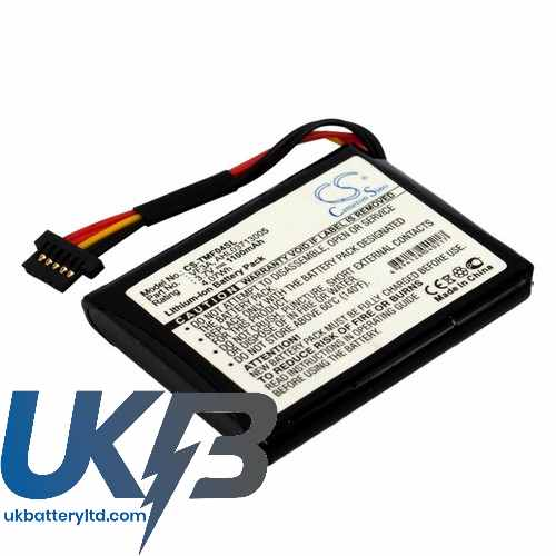 Replacement Battery Batteries For TOMTOM VF3A CS TMF04SL