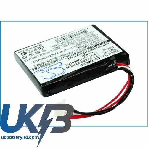 Replacement Battery For TomTom FM0804001846 K1 One XL HD Traffic