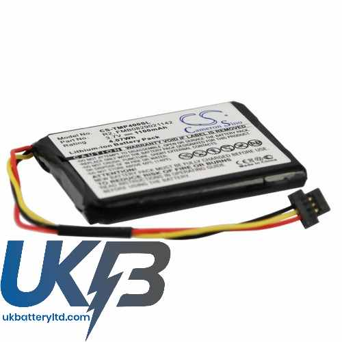 Replacement Battery Batteries For TOMTOM 6027A0090721 CS TMP400SL
