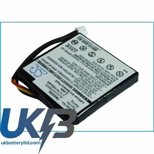 Replacement Battery For TomTom ALHL03708003 4EN.001.02 4EN42 4EN52