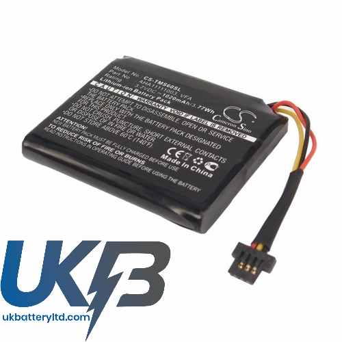 Replacement Battery Batteries For TOMTOM VFA CS TMS60SL
