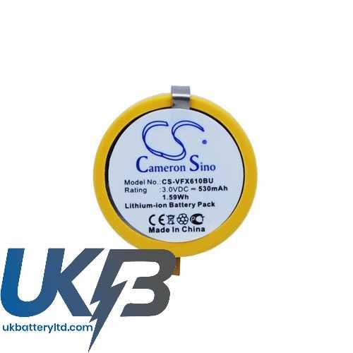 Replacement Battery Batteries For VERIFONE VX610 Wireless credit card machine CS VFX610BU
