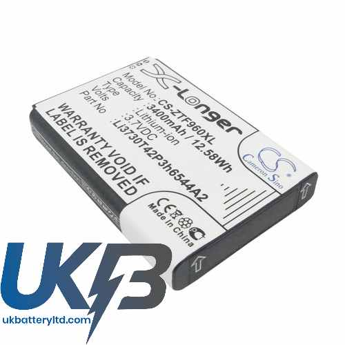 Replacement Battery Batteries For NET10 SRQ Z289L CS ZTF960XL