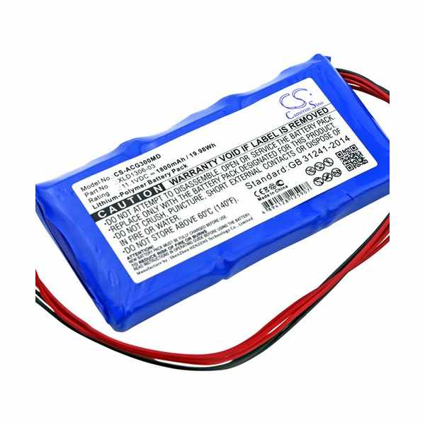 Replacement Battery Batteries For ARICON ECG 3D CS ACG300MD