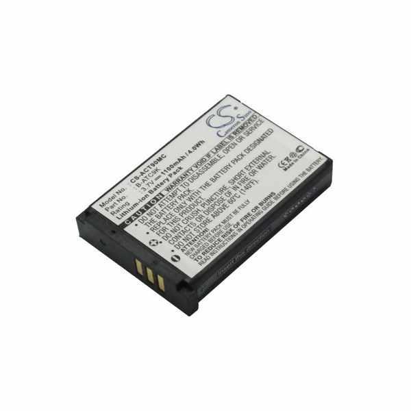Replacement Battery For Oregon Scientific B-ATC9K B-ATC9K-JWP ATC9k Action Camera