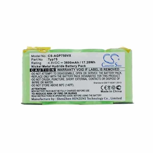 Replacement Battery Batteries For AEG AG64x CS AGP750VX