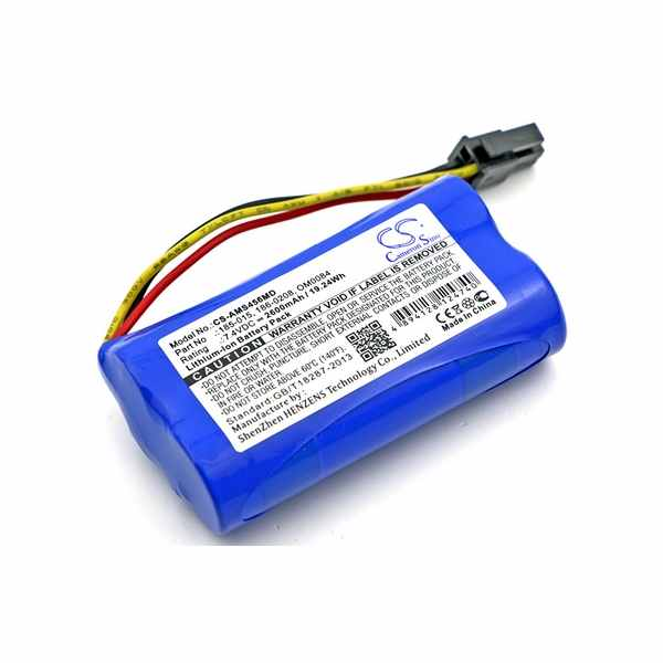 Replacement Battery Batteries For ASPECT MEDICAL SYSTEM 185 0152 CS AMS456MD