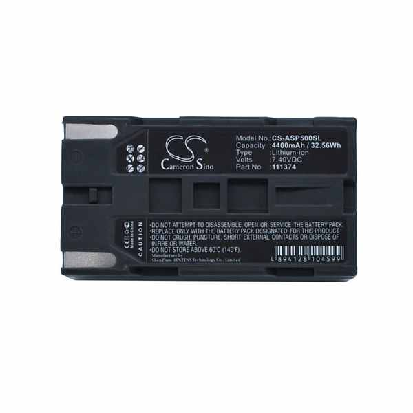 Replacement Battery Batteries For ASHTECH 111374 CS ASP500SL