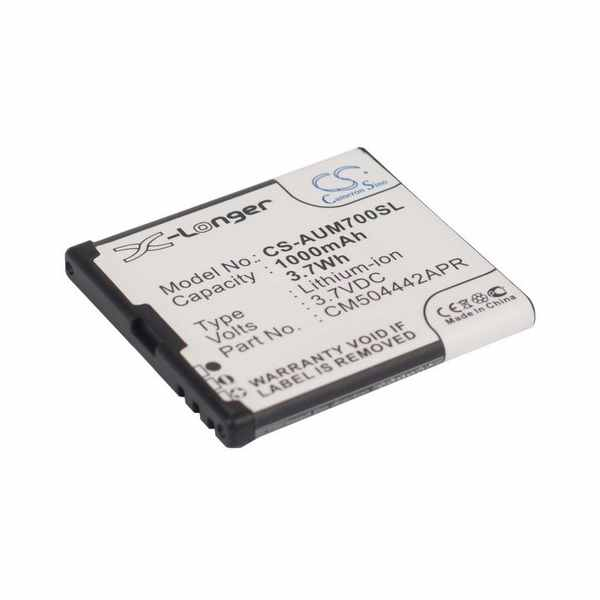 Replacement Battery Batteries For AMPLICOM CM504442APR CS AUM700SL