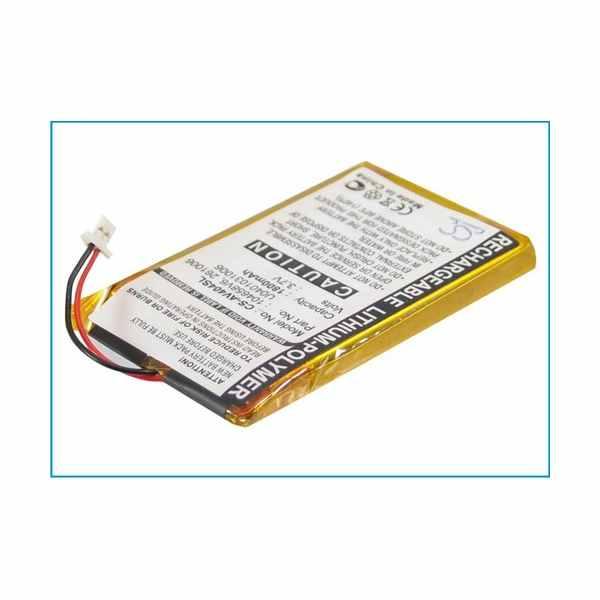 Replacement Battery Batteries For ARCHOS 104658V6 CS AV404SL