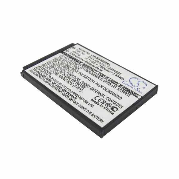Replacement Battery Batteries For CREATIVE 70PD000000039 CS BA0005SL