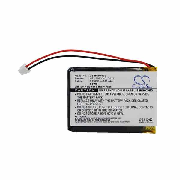 Replacement Battery Batteries For IDECT CP75 CS BCP75CL