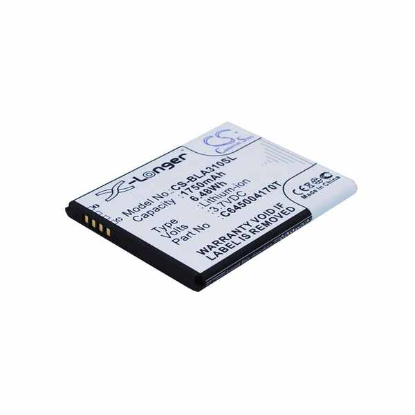 Replacement Battery Batteries For BLU A310 CS BLA310SL