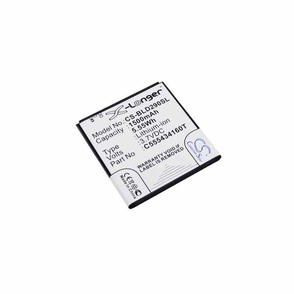 Replacement Battery Batteries For BLU AMOUR CS BLD290SL