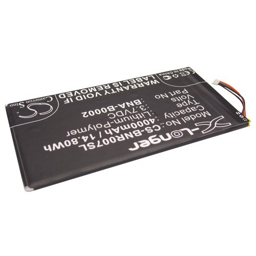 POWERY Batteria per Barnes /& Noble Nook BNRZ100