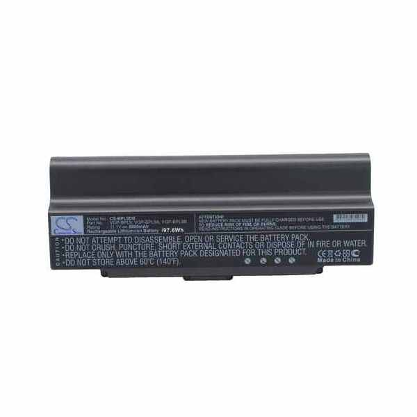 Replacement Battery Batteries For SONY VAIO PCG 5G3L CS BPL9DB
