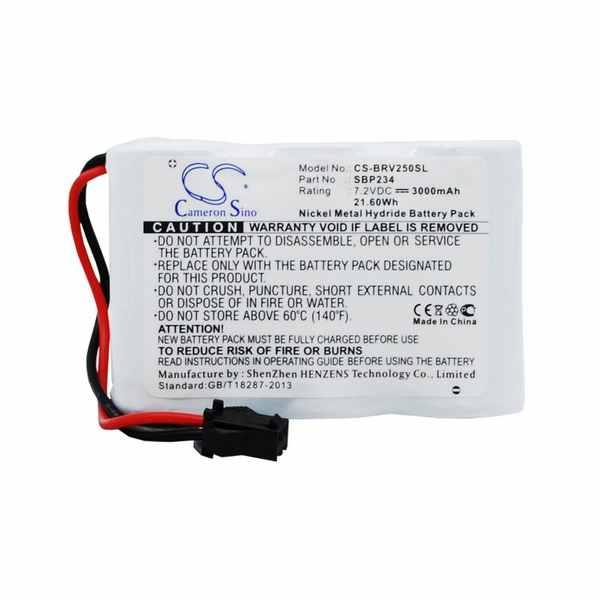 Replacement Battery Batteries For BIRDDOG SBP234 CS BRV250SL