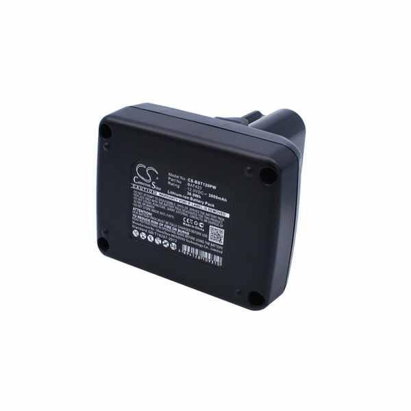 Replacement Battery Batteries For BOSCH 12 VoltMaxTools CS BST120PW