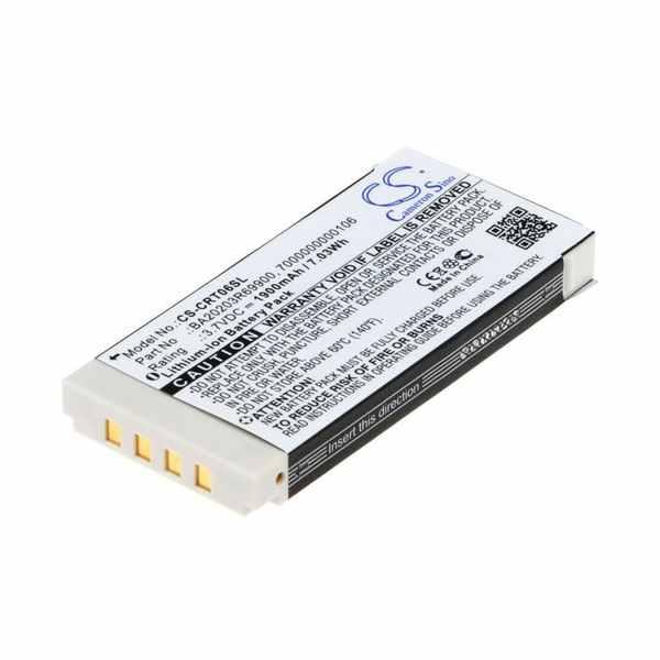 Replacement Battery Batteries For CREATIVE 7000000000106 CS CRT06SL