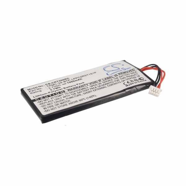 Replacement Battery Batteries For CRESTRON LPPCZRST1S1P CS CRT300RC