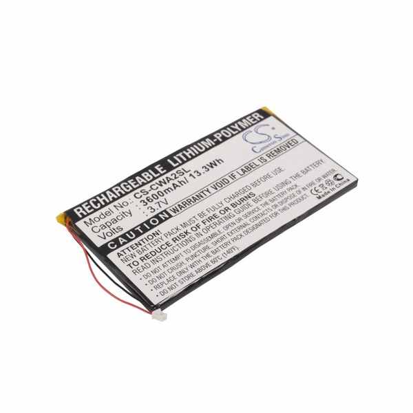 Replacement Battery Batteries For COWON PMPA220GB CS CWA2SL