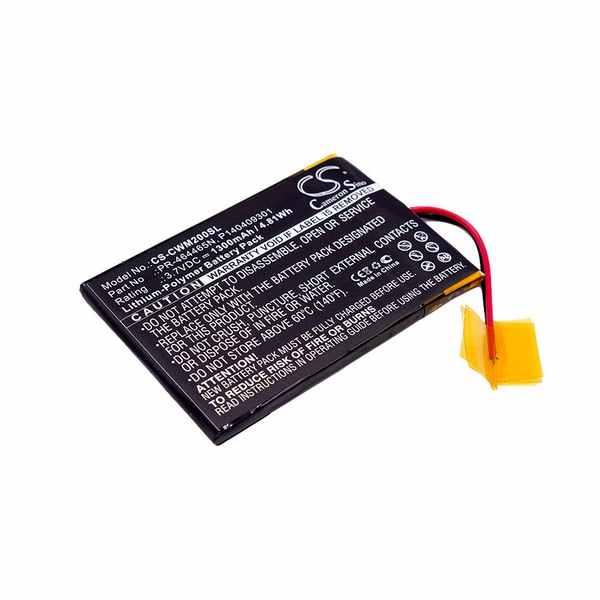 Replacement Battery Batteries For COWON M2 CS CWM200SL