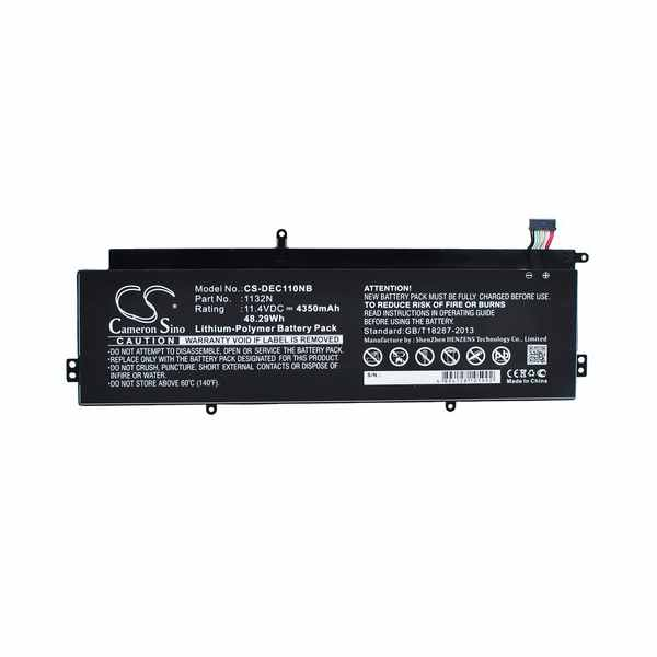 Replacement Battery Batteries For DELL 01132N CS DEC110NB