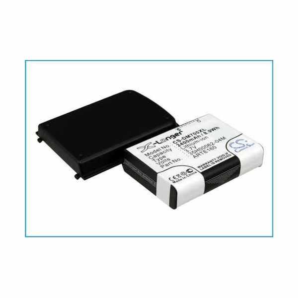 Replacement Battery For Qtek 35H00062-04M ARTE160 G200