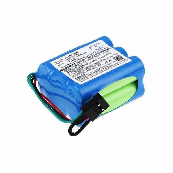 Replacement Battery Batteries For PHYSIO CONTROL Lifepak 250 CS DRX200MD